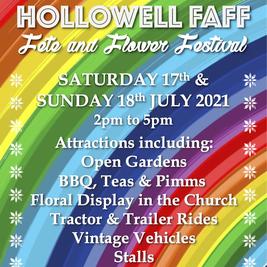 Hollowell FAFF (Fête, Flower Festival & Open Gardens)