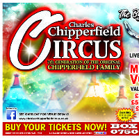 Charles Chipperfield Circus Sherdley Park, St Helens