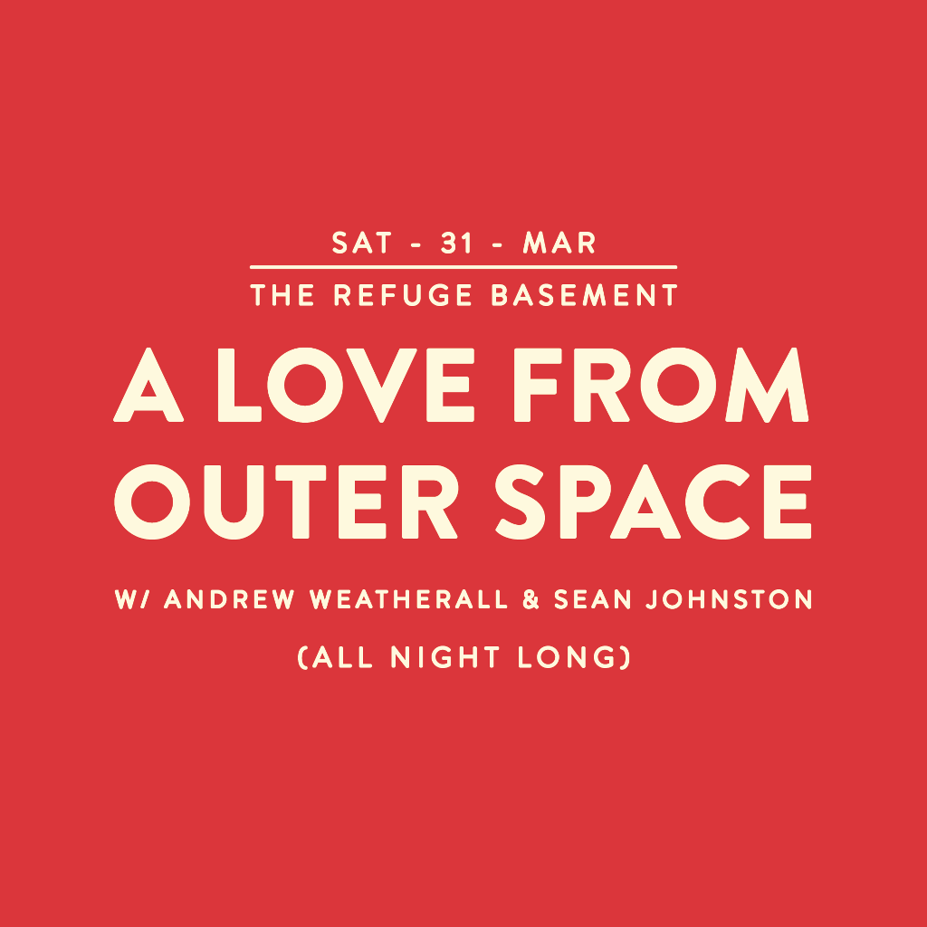 A Love From Outer Space - Manchester