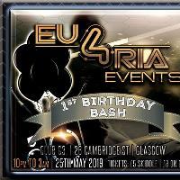 Eu4ria Events Birthday Bash