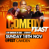 Comedy Feast with live pa by Jahmene