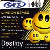 QFX Live on stage performing their hits