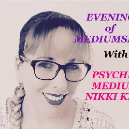 Evening of Mediumship with Nikki Kitt - Weymouth