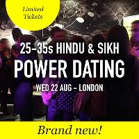FREE Hindu & Sikh Meet & Mingle Dating, London - 25-35s