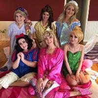 Princess pyjama party