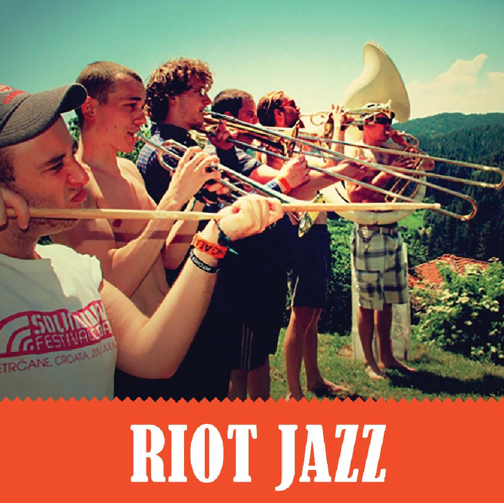Riot Jazz Easter Takeover