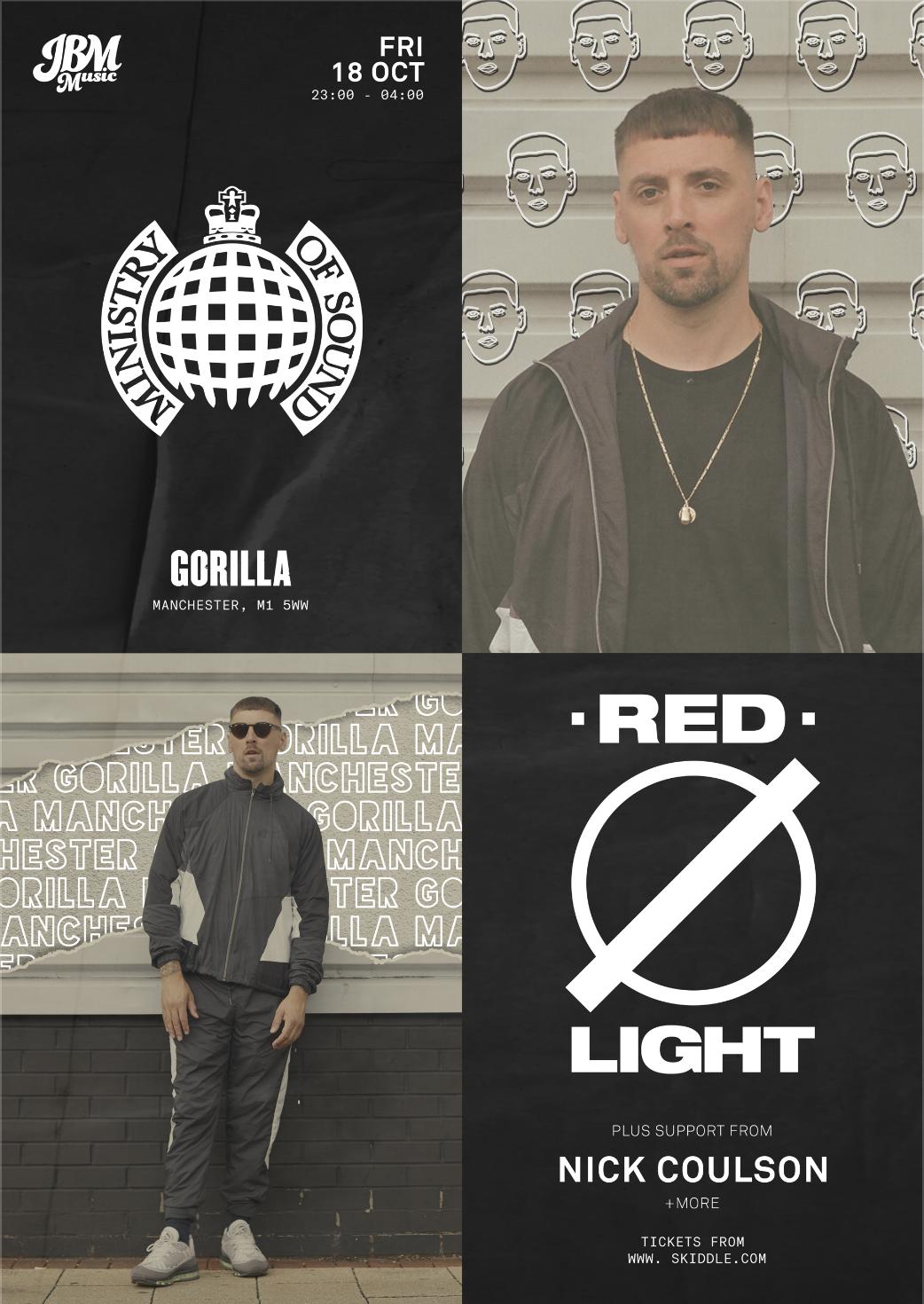 MOS Presents: Redlight at Gorilla