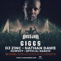 BassJam w/ Giggs, DJ Zinc, Nathan Dawe & More