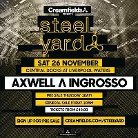 Creamfields Presents Steel Yard