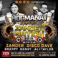 Zander Nation Hogmany G3 Nightclub