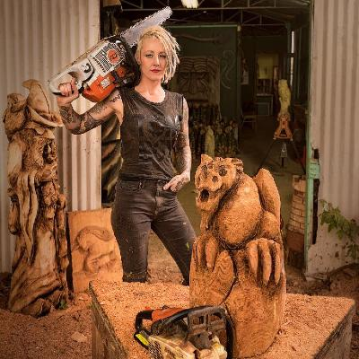 Buffalo Trace Bourbon Whiskey is hosting America's leading chainsaw artist - at a live exhibition from the 13th- 15th December.
