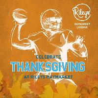 The Ultimate Thanksgiving Experience! 3-Course Menu & NFL Games