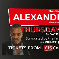 Alexander O'Neal live at REIDS Bar Billericay
