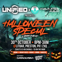 Unified x Hydrated Audio - Halloween Special