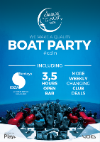 Cirque de la Nuit Ibiza Boat Party @Ibiza Boat Club