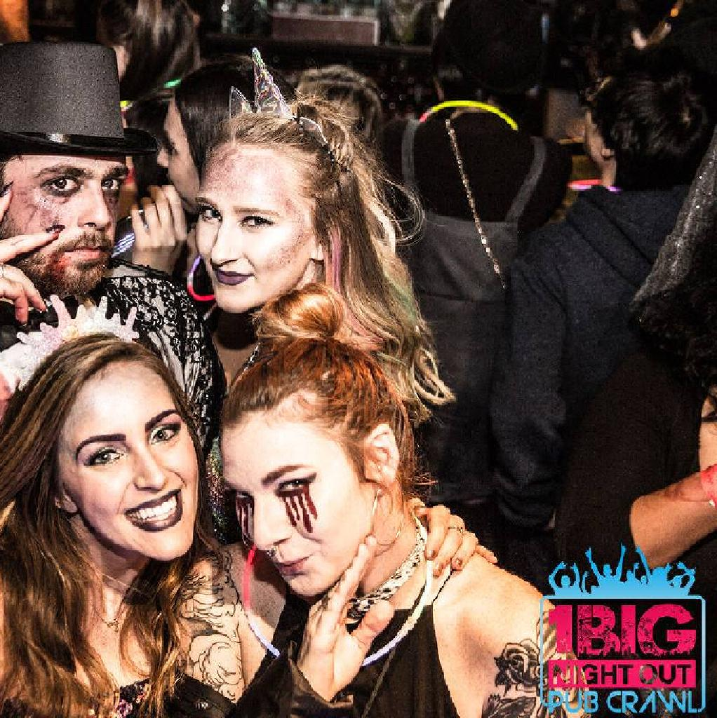 The Halloween Zombie Bar Crawl 2020