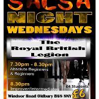 Oldbury Salsa Classes