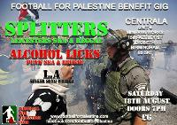 Football for Palestine - benefit gig