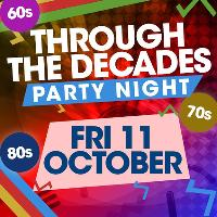 Through The Decades PartyNight