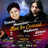 Shazia Manzoor and Nadeem Abbas Loonywala live in Greenford