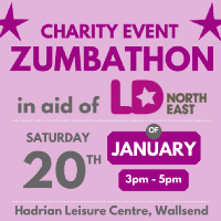 Zumbathon in aid of LD:NorthEast