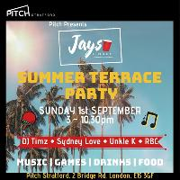 Pitch Presents: Jays Linkup – Summer Terrace Party