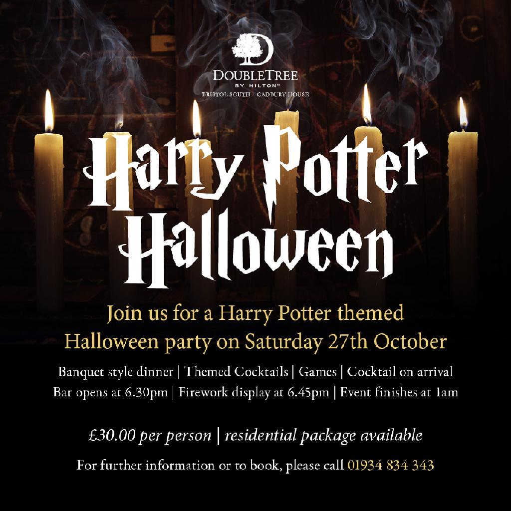 harry potter halloween | double treehilton cadbury house bristol