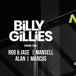 MOAR presents Billy Gillies