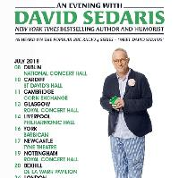 An Evening With David Sedaris 2018 UK Tour