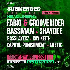 Submerged - Fabio & Grooverider - Basslayerz - Ray Keith - Capital p
