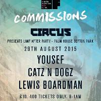 LIMF Commissions presents CIRCUS after party - Palm House
