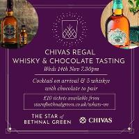 Whisky and Chocolate with Chivas Regal