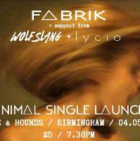 Fabrik EP Launch with support from Wolfslang & Lycio