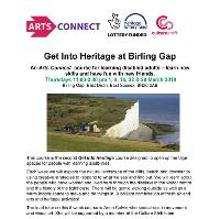 Arts Connect: Get Into Heritage at Birling Gap