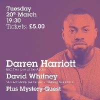 Darren Harriott Headlines Comedy at Milk