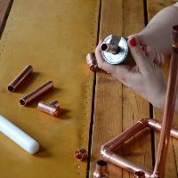 Copper Candelabra Workshop