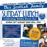 Our Scottish family Sunday lunch & ceilidh