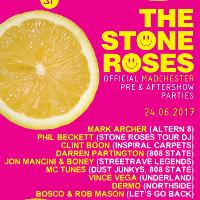 Official Stone Roses Pre & Aftershow Party GLASGOW