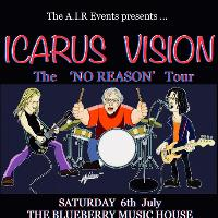 Icarus Vision live ! The 'No Reason' Tour