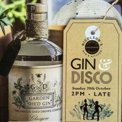 Gin and disco greenock