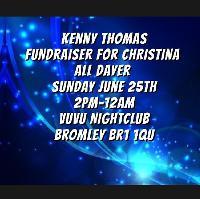 Kenny Thomas Fundraiser