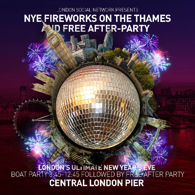 Fireworks on The Thames Boat Party and a stunning after-party