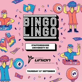 BINGO LINGO - Staffordshire Students Union