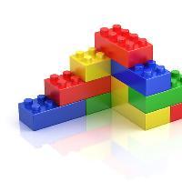 Big picture, tiny bricks