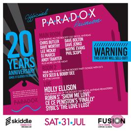 PARADOX REUNION 20TH ANNIVERSARY