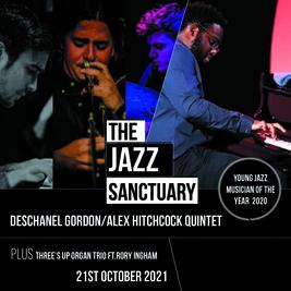 Deschanel Gordon/Alex Hitchcock Quintet & Threes Up organ trio