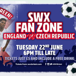 EUROS - SWX Fan Zone - England v Czech