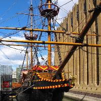Rum Tasting Evening on The Golden Hinde
