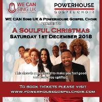 Powerhouse Gospel Choir ft. WE CAN Sing UK - A Soulful Christmas