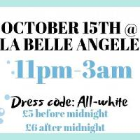 Dress-in-WHITE PARTY at La BELLE